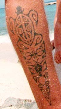 Tribal Hawaiian Tattoo Design